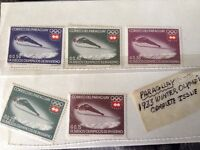 Stamps timbres paragauy Olympics