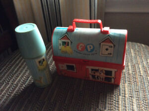 Vintage Fisher Price lunch box