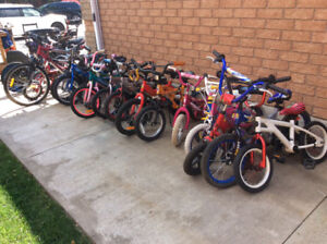 KIDS USED BIKES FOR SALE!!!! REASONABLE PRICES