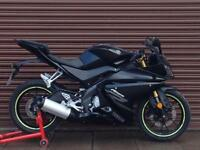Yamaha YZF R125 ABS 2017. Only 4441miles. Nationwide Delivery Available.