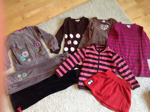 Lot of size 5 girl clothes