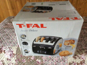 T-fall deluxe toaster