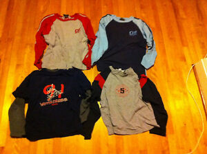 Boys size 7/8(small) long sleeves clothes package