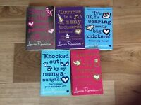 5 fictional books for teens Georgia Nicholson series by Louise Rennison