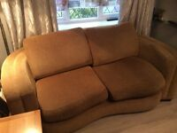 Gold settee