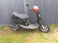 Piaggio zip 50cc started and rides (just need full set of panels ) £150