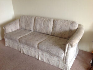 good condition couch, pet free and smoke free, ONLY 50$