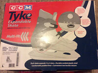 CCM Tyke Expandable Skate