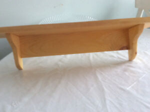 Pine Shelves - Shelves 25 inches (2 avail) New never used! $10..