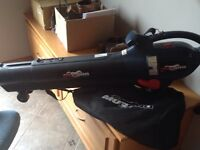 Like new leaf blower and vacuum all in one!