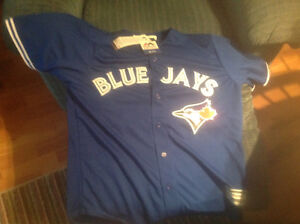 Brand new authentic Blue Jays jersey men's large Kingston Kingston Area image 1
