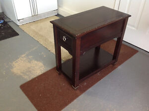 Two night tables/ side tables