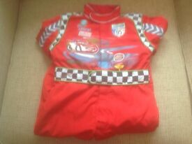 Lightning McQueen Dressing Up Outfit Age 2-3