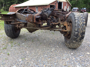 Complete chevy 4x4 frame one ton