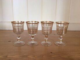 Vintage sherry / liqueur glasses