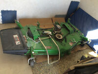 Drive over Lawn mower deck