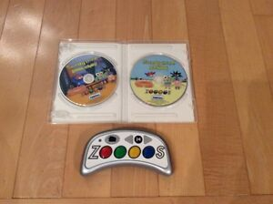 Zoooos Play and Learn DVD System with 2 DVD Game Discs Kitchener / Waterloo Kitchener Area image 2