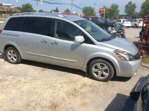 2007 Nissian Quest 3.5 mvi'd Till May Large Interior $1750.00
