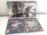 Sony Playstation 3 PS3 Games Bundle - All excellent condition with Manuals