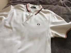 Genuine Fred Perry t-shirt.