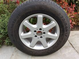 Brand New Wheel and Tyre for Mercedes ML or similar 4 x 4