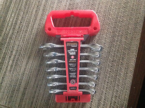 Professional 7 Piece Combination Metric Stubby Wrench Set
