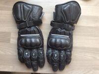 Schoeller motorcycle gloves L