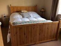 IKEA HURDAL king size bed