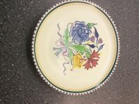 Poole pottery dinner plate.