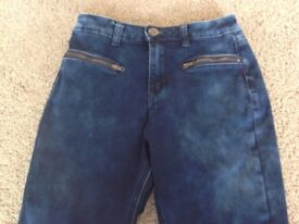 As New NEW LOOK Skinny Jeans Girls age 13