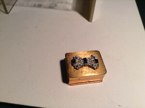 VINTAGE VOLUPTE BRASS BOX OR TINY BOX