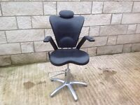 Stylist chair hair salon