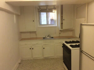 4 1/2 basement apartment for rent for April