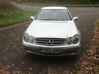 CLK 320 auto Mercedes Avantgarde coup