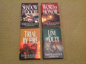 Set of 4 Terri Blackstock Books