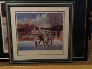 Practice Makes Perfect frame print by Walter Burden