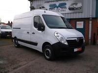2013 63 VAUXHALL MOVANO MWB MED ROOF CDTI 125BHP 3.5T VERY CLEAN LIKE MASTER