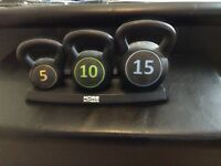 Fitness core kettle weights