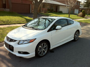 2012 Civic Si, HFP body kit, Extended warranty 8yr/200,000 kms