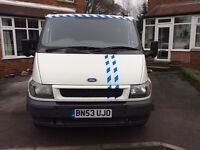 Ford Transit Crewcab Tipper
