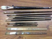 Vintage DALER brushes