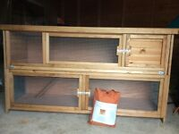 New Rabbit or guinea Pig Hutch with cover