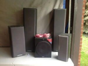 Speakers and Woofer for sale