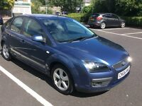 2006 Ford Focus 1.6 Zetec Climate Automatic-1 owner-service history-May 17 mot-great value