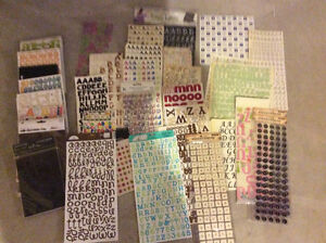 Scrapbooking supplies