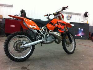 KTM 200sx 2stroke