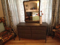 french Provincial Style 6 Drawer Dresser