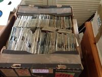 "100s of 7"" inch single for sale 30p each 60s 70s 80s & 90s"
