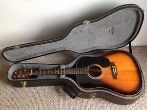 Awesome Jasmine guitar with case