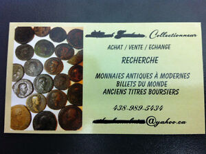 Collectionneur Monnaies du Monde-Collector Coins of World Search